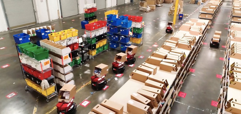 Robots as a Service: A low-risk path to warehouse automation?