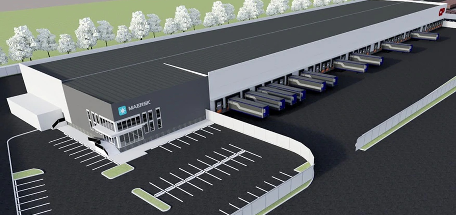 Maersk and Canadian Pacific to build transload, distribution center to take reliance off trucks