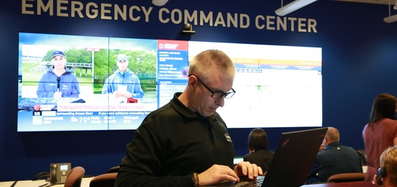 Lowe's Emergency Command Center in Wilkesboro, NC