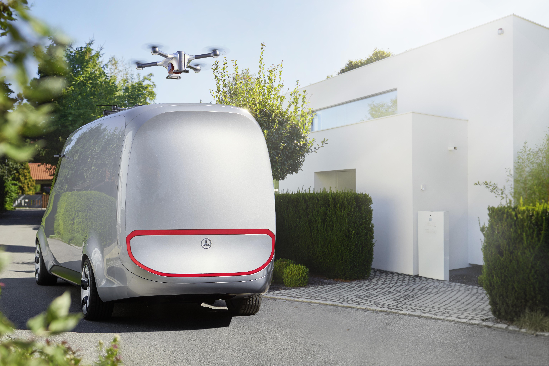 Matternet-Daimler van concept design