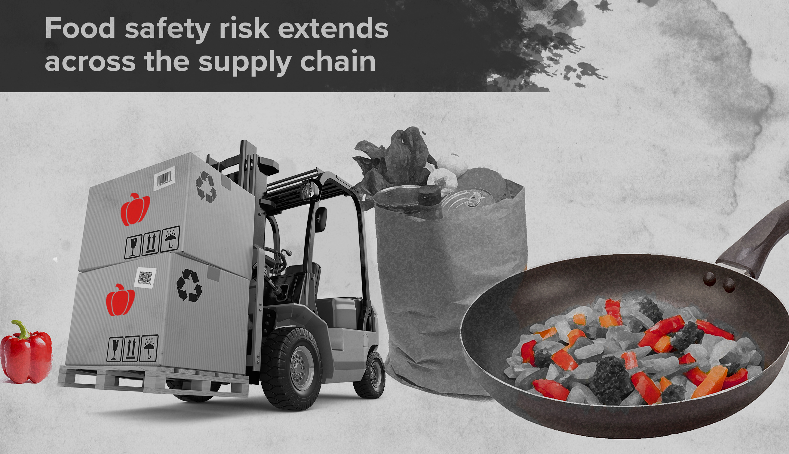 Food safety risk extends across the supply chain.