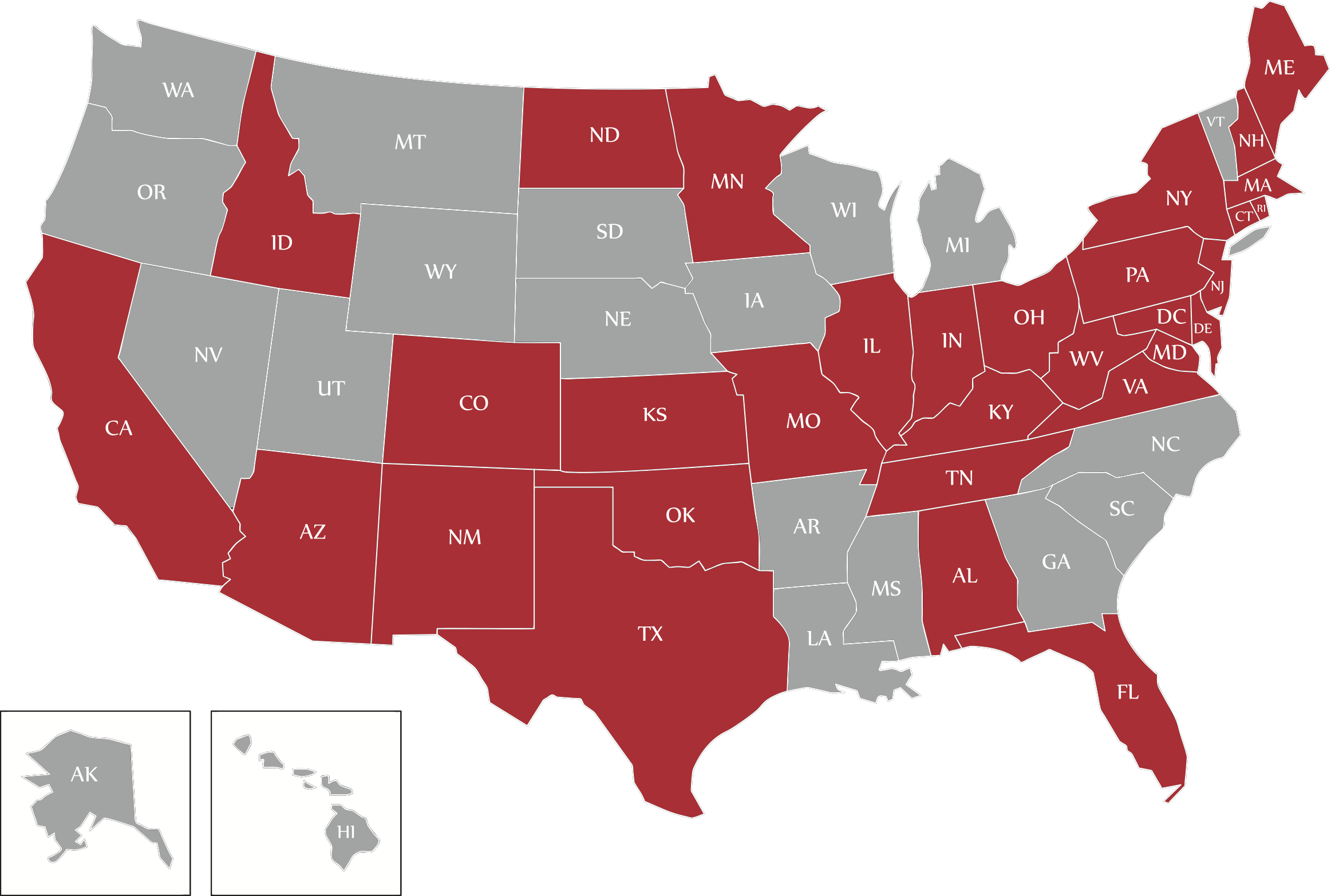 Target has a demand response presence in 31 states